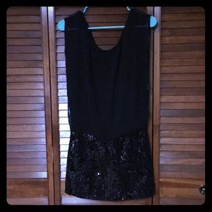 Black Mini BeBe Dress